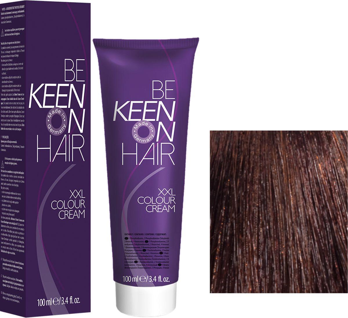 Keen Краска для волос 5.6 Слива Pflaume, 100 мл69100028Модные оттенкиБолее 100 оттенков для креативной комбинации цветов.ЭкономичностьПри использовании тюбика 100 мл вы получаете оптимальное соотношение цены и качества!УходМолочный белок поддерживает структуру волоса во время окрашивания и придает волосам блеск и шелковистость. Протеины хорошо встраиваются в волосы и снабжают их влагой.