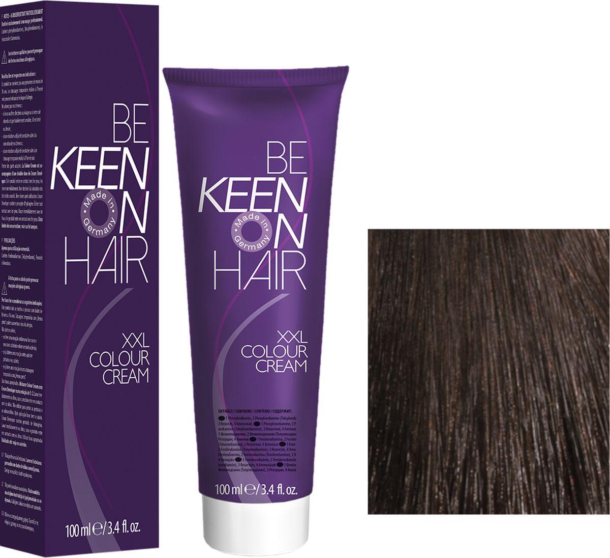 Keen Краска для волос 5.7 Шоколад Schoko, 100 мл69100029Модные оттенкиБолее 100 оттенков для креативной комбинации цветов.ЭкономичностьПри использовании тюбика 100 мл вы получаете оптимальное соотношение цены и качества!УходМолочный белок поддерживает структуру волоса во время окрашивания и придает волосам блеск и шелковистость. Протеины хорошо встраиваются в волосы и снабжают их влагой.