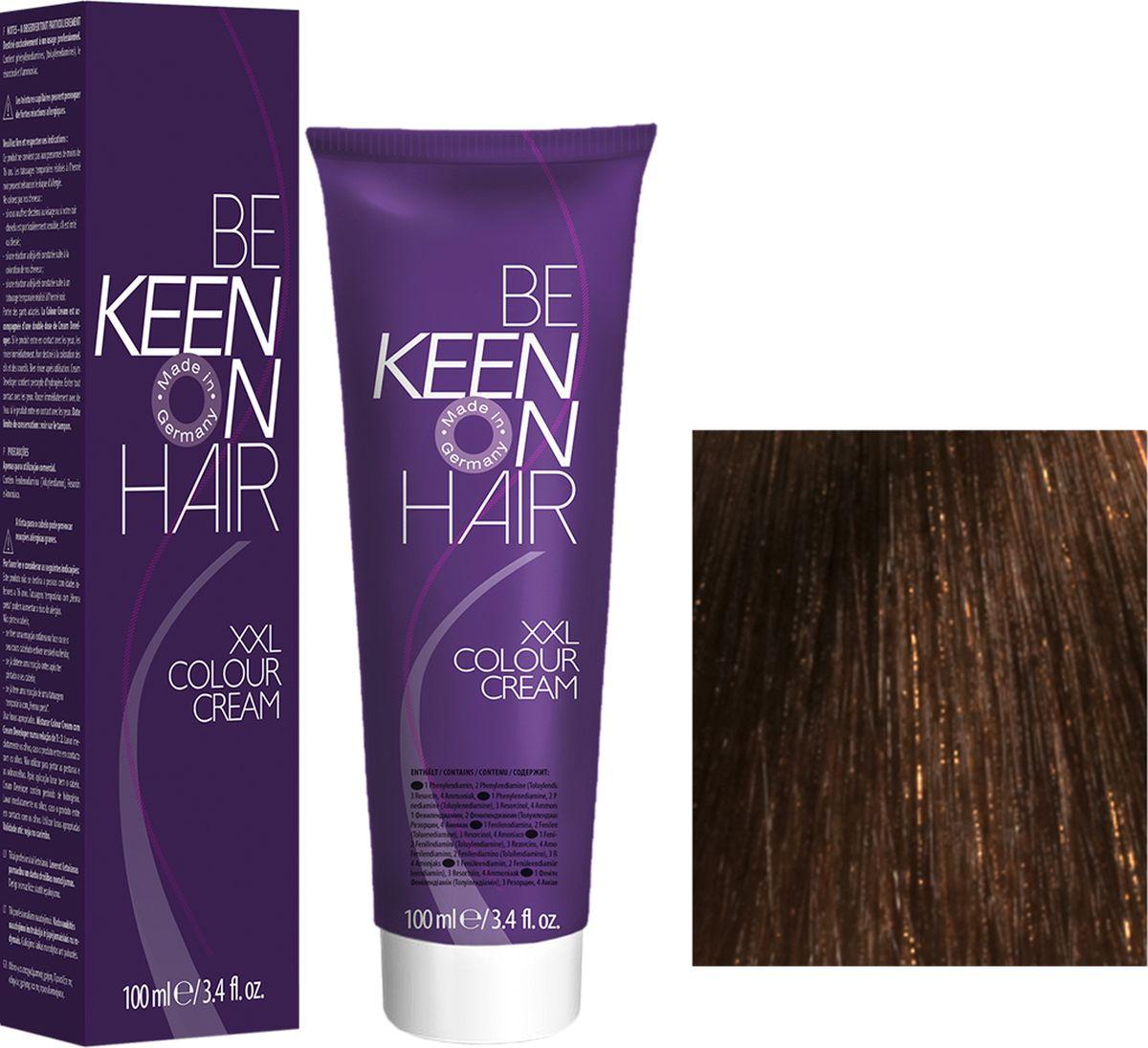 Keen Краска для волос 5.73 Гавана Havanna, 100 мл69100031Модные оттенкиБолее 100 оттенков для креативной комбинации цветов.ЭкономичностьПри использовании тюбика 100 мл вы получаете оптимальное соотношение цены и качества!УходМолочный белок поддерживает структуру волоса во время окрашивания и придает волосам блеск и шелковистость. Протеины хорошо встраиваются в волосы и снабжают их влагой.