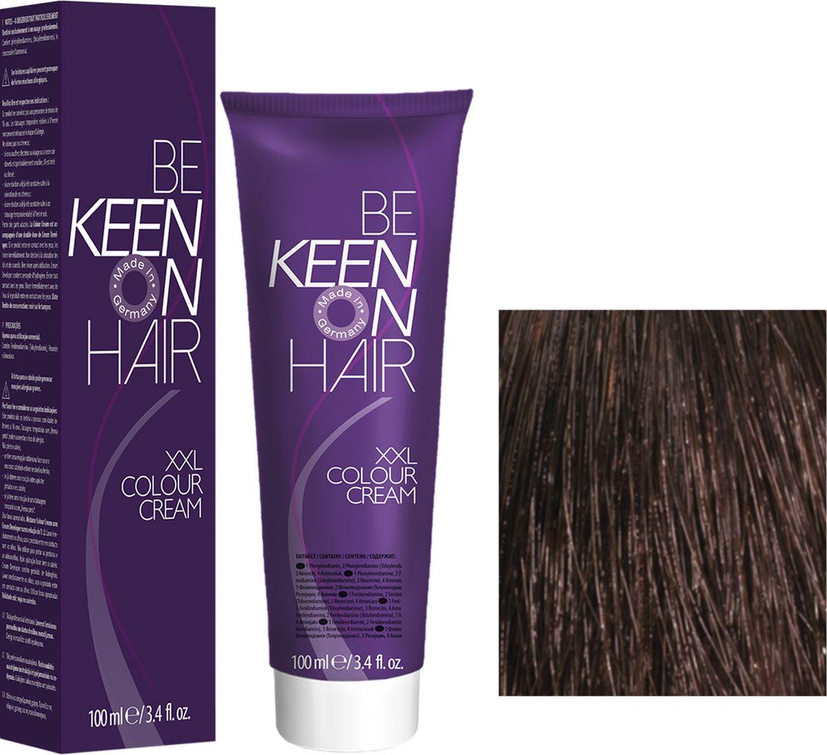Keen Краска для волос 5.75 Каштан Kastanie, 100 мл69100032Модные оттенкиБолее 100 оттенков для креативной комбинации цветов.ЭкономичностьПри использовании тюбика 100 мл вы получаете оптимальное соотношение цены и качества!УходМолочный белок поддерживает структуру волоса во время окрашивания и придает волосам блеск и шелковистость. Протеины хорошо встраиваются в волосы и снабжают их влагой.