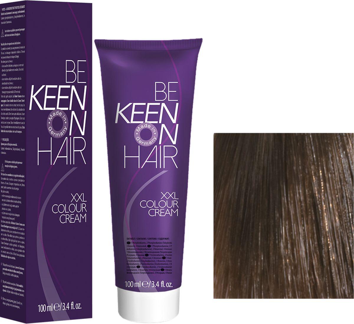 Keen Краска для волос 6.0 Темный блондин Dunkelblond, 100 мл69100034Модные оттенкиБолее 100 оттенков для креативной комбинации цветов.ЭкономичностьПри использовании тюбика 100 мл вы получаете оптимальное соотношение цены и качества!УходМолочный белок поддерживает структуру волоса во время окрашивания и придает волосам блеск и шелковистость. Протеины хорошо встраиваются в волосы и снабжают их влагой.