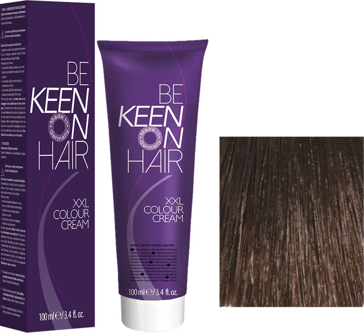 Keen Краска для волос 6.00+ Интенсивный темный блондин Dunkelbond +, 100 мл69100035Модные оттенкиБолее 100 оттенков для креативной комбинации цветов.ЭкономичностьПри использовании тюбика 100 мл вы получаете оптимальное соотношение цены и качества!УходМолочный белок поддерживает структуру волоса во время окрашивания и придает волосам блеск и шелковистость. Протеины хорошо встраиваются в волосы и снабжают их влагой.