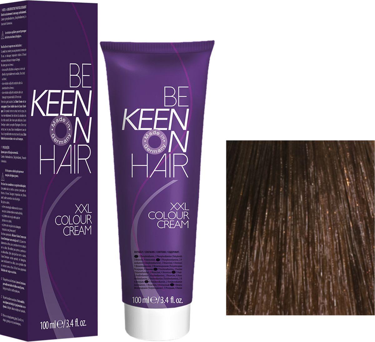 Keen Краска для волос 6.3 Темно-золотистый блондин Dunkelblond Gold, 100 мл69100037Модные оттенкиБолее 100 оттенков для креативной комбинации цветов.ЭкономичностьПри использовании тюбика 100 мл вы получаете оптимальное соотношение цены и качества!УходМолочный белок поддерживает структуру волоса во время окрашивания и придает волосам блеск и шелковистость. Протеины хорошо встраиваются в волосы и снабжают их влагой.
