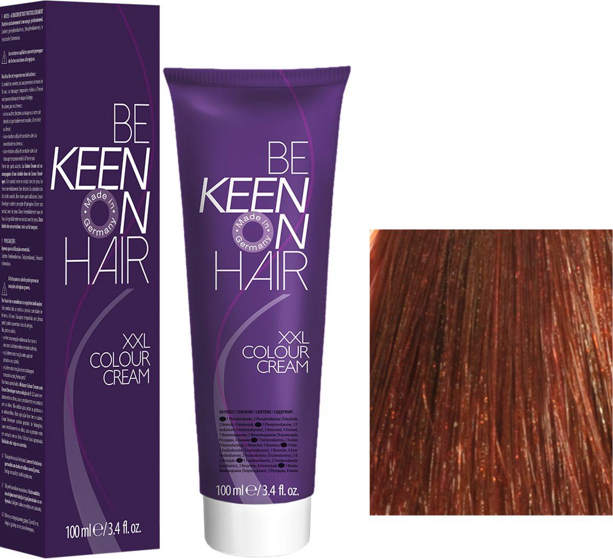 Keen Краска для волос 6.43 Темный золотисто-медный блондин Dunkelblond Kupfer-Gold, 100 мл69100039Модные оттенкиБолее 100 оттенков для креативной комбинации цветов.ЭкономичностьПри использовании тюбика 100 мл вы получаете оптимальное соотношение цены и качества!УходМолочный белок поддерживает структуру волоса во время окрашивания и придает волосам блеск и шелковистость. Протеины хорошо встраиваются в волосы и снабжают их влагой.