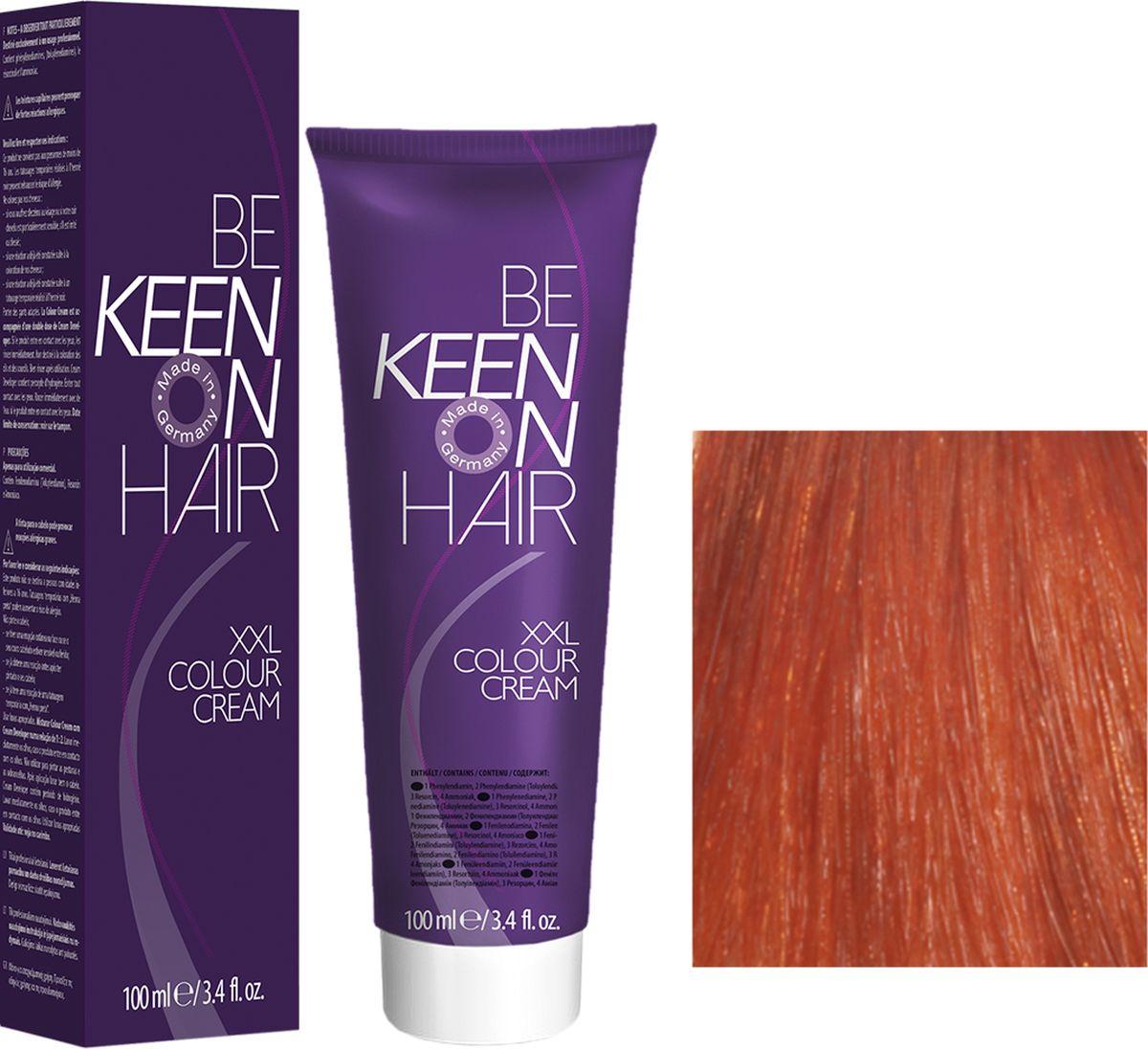 Keen Краска для волос 6.44 Темный интенсивно-медный блондин Dunkelblond Kupfer-Intensiv, 100 мл69100040Модные оттенкиБолее 100 оттенков для креативной комбинации цветов.ЭкономичностьПри использовании тюбика 100 мл вы получаете оптимальное соотношение цены и качества!УходМолочный белок поддерживает структуру волоса во время окрашивания и придает волосам блеск и шелковистость. Протеины хорошо встраиваются в волосы и снабжают их влагой.