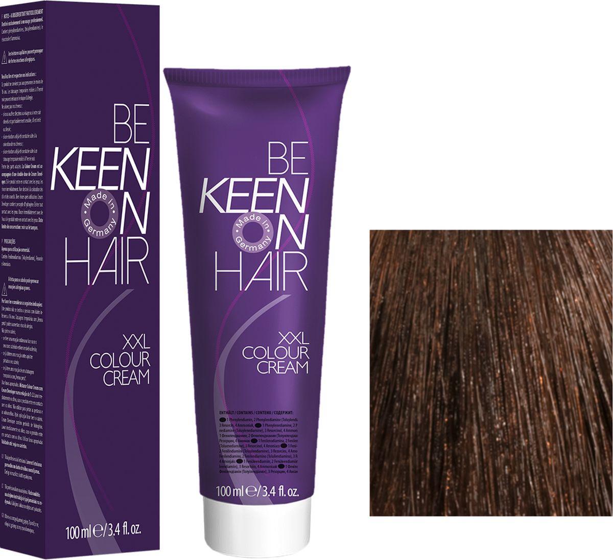 Keen Краска для волос 6.7 Какао Kakao, 100 мл69100048Модные оттенкиБолее 100 оттенков для креативной комбинации цветов.ЭкономичностьПри использовании тюбика 100 мл вы получаете оптимальное соотношение цены и качества!УходМолочный белок поддерживает структуру волоса во время окрашивания и придает волосам блеск и шелковистость. Протеины хорошо встраиваются в волосы и снабжают их влагой.