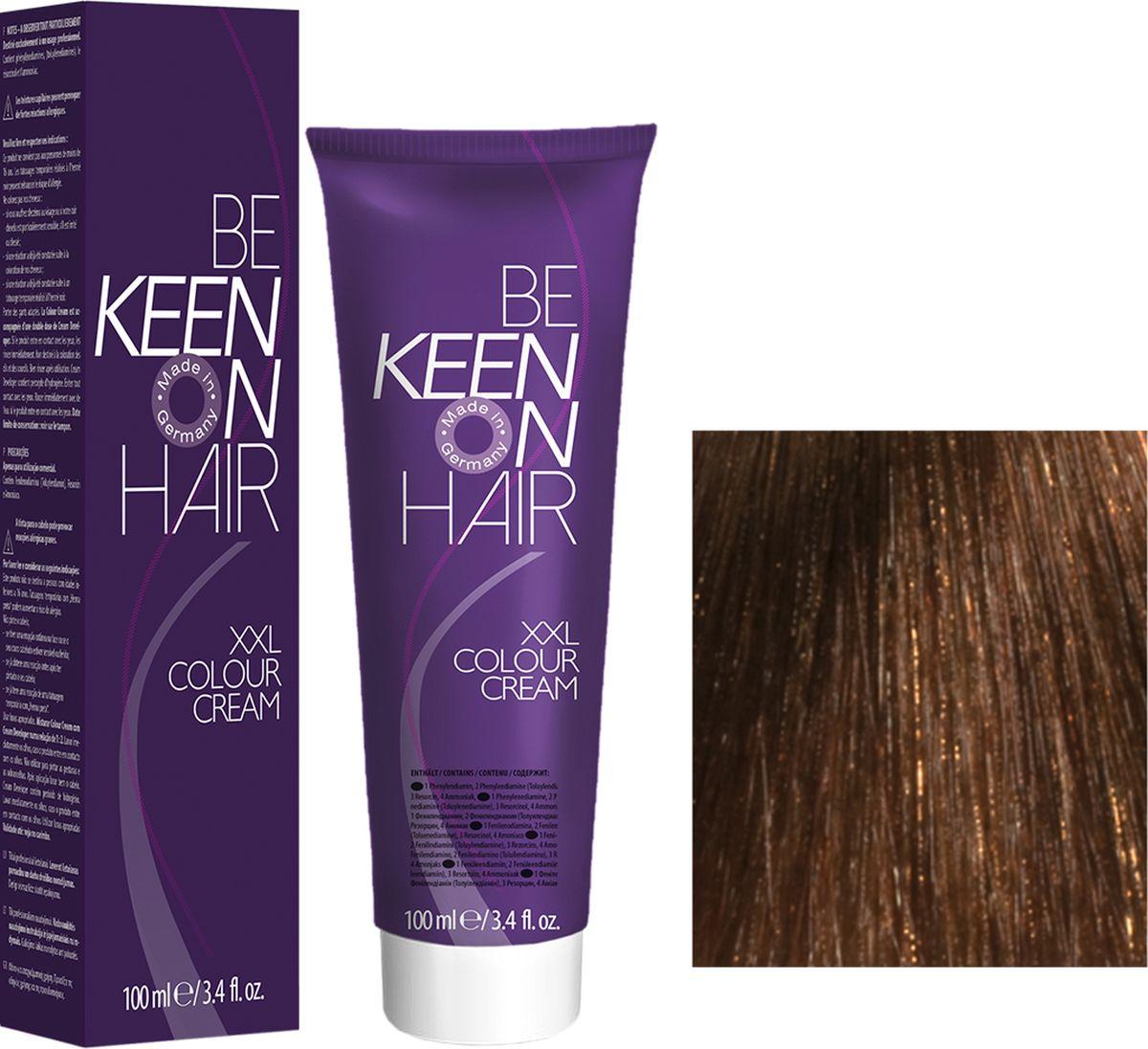 Keen Краска для волос 6.73 Мускат Muskat, 100 мл69100050Модные оттенкиБолее 100 оттенков для креативной комбинации цветов.ЭкономичностьПри использовании тюбика 100 мл вы получаете оптимальное соотношение цены и качества!УходМолочный белок поддерживает структуру волоса во время окрашивания и придает волосам блеск и шелковистость. Протеины хорошо встраиваются в волосы и снабжают их влагой.