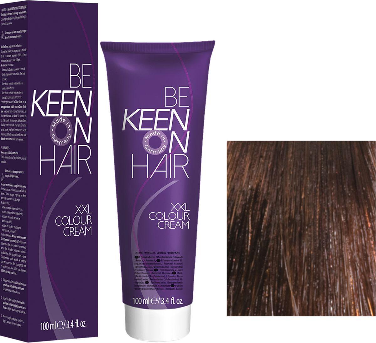 Keen Краска для волос 6.75 Темный палисандр Palisander Dunkel, 100 мл69100051Модные оттенкиБолее 100 оттенков для креативной комбинации цветов.ЭкономичностьПри использовании тюбика 100 мл вы получаете оптимальное соотношение цены и качества!УходМолочный белок поддерживает структуру волоса во время окрашивания и придает волосам блеск и шелковистость. Протеины хорошо встраиваются в волосы и снабжают их влагой.