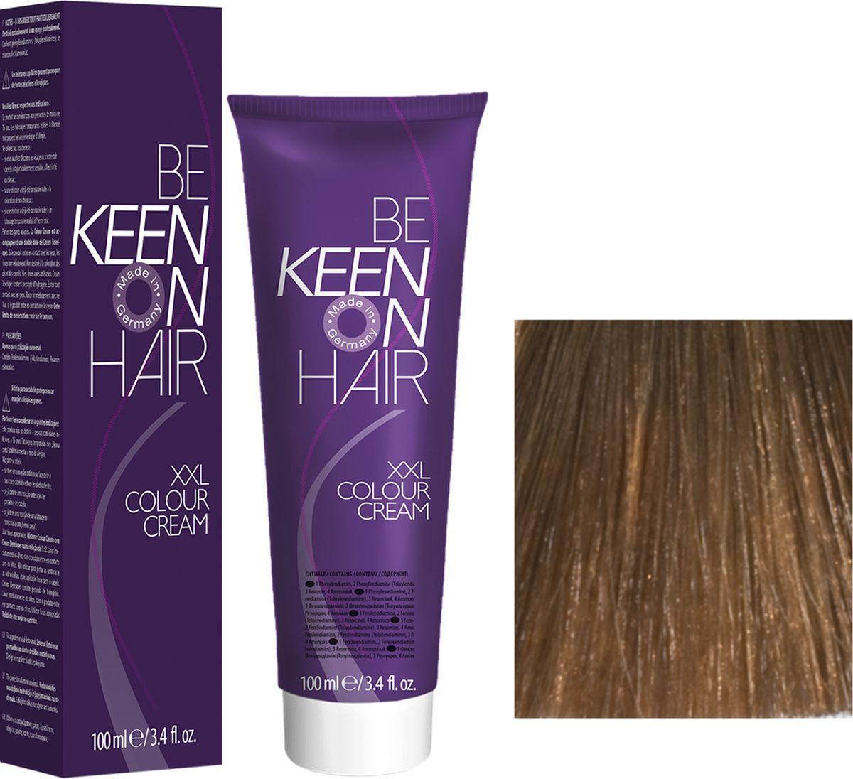 Keen Краска для волос 7.0 Натуральный блондин Mittelbond, 100 мл69100053Модные оттенкиБолее 100 оттенков для креативной комбинации цветов.ЭкономичностьПри использовании тюбика 100 мл вы получаете оптимальное соотношение цены и качества!УходМолочный белок поддерживает структуру волоса во время окрашивания и придает волосам блеск и шелковистость. Протеины хорошо встраиваются в волосы и снабжают их влагой.