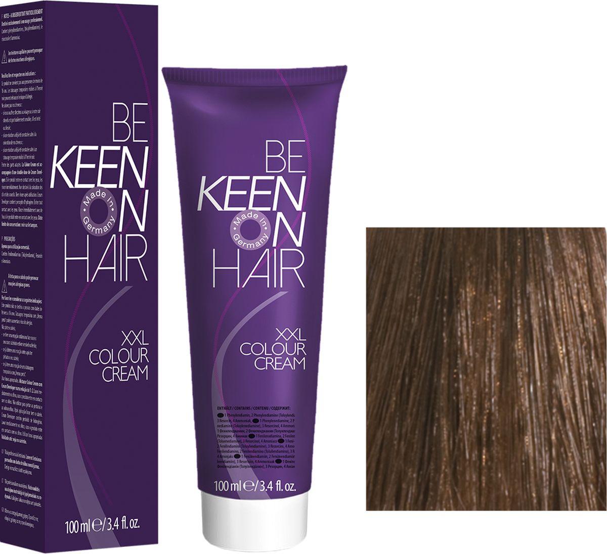 Keen Краска для волос 7.00+ Интенсивный натуральный блондин Mittelbond +, 100 мл69100054Модные оттенкиБолее 100 оттенков для креативной комбинации цветов.ЭкономичностьПри использовании тюбика 100 мл вы получаете оптимальное соотношение цены и качества!УходМолочный белок поддерживает структуру волоса во время окрашивания и придает волосам блеск и шелковистость. Протеины хорошо встраиваются в волосы и снабжают их влагой.