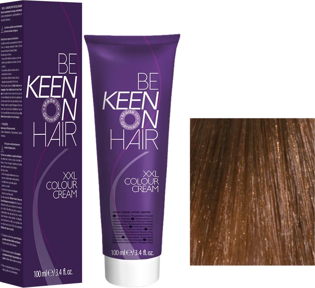 Keen Краска для волос 7.3 Натуральный золотистый блондин Mittelblond Gold, 100 мл69100056Модные оттенкиБолее 100 оттенков для креативной комбинации цветов.ЭкономичностьПри использовании тюбика 100 мл вы получаете оптимальное соотношение цены и качества!УходМолочный белок поддерживает структуру волоса во время окрашивания и придает волосам блеск и шелковистость. Протеины хорошо встраиваются в волосы и снабжают их влагой.