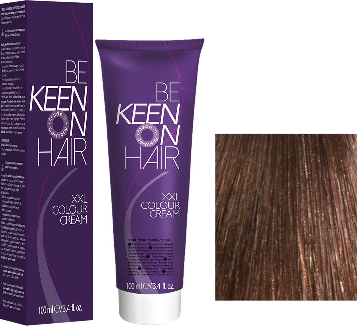 Keen Краска для волос 7.7 Карамель Karamell, 100 мл69100065Модные оттенкиБолее 100 оттенков для креативной комбинации цветов.ЭкономичностьПри использовании тюбика 100 мл вы получаете оптимальное соотношение цены и качества!УходМолочный белок поддерживает структуру волоса во время окрашивания и придает волосам блеск и шелковистость. Протеины хорошо встраиваются в волосы и снабжают их влагой.