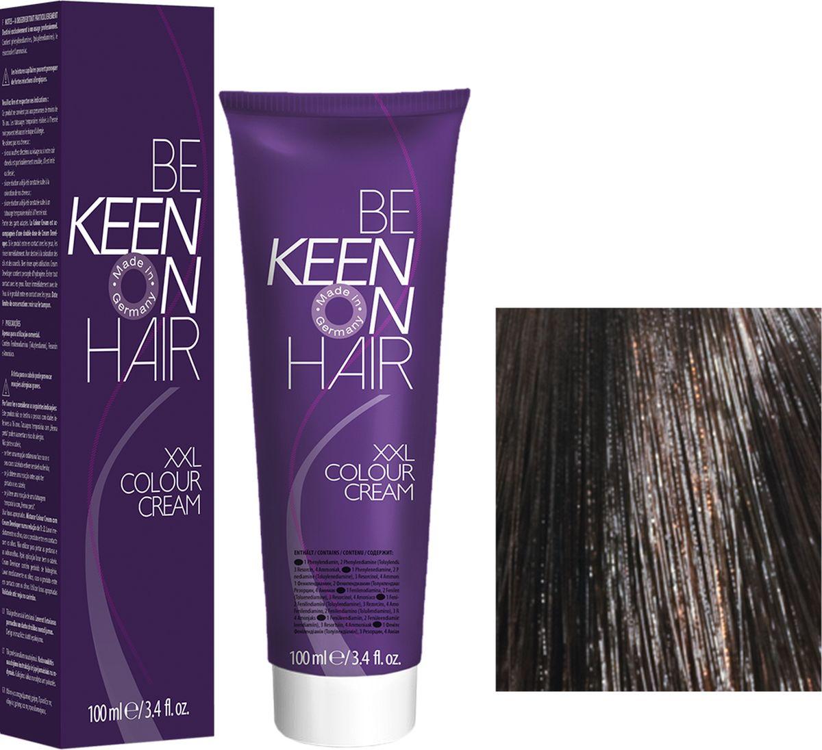 Keen Краска для волос 7.71 Кораллово-коричневый Koralle Braun, 100 мл69100066Модные оттенкиБолее 100 оттенков для креативной комбинации цветов.ЭкономичностьПри использовании тюбика 100 мл вы получаете оптимальное соотношение цены и качества!УходМолочный белок поддерживает структуру волоса во время окрашивания и придает волосам блеск и шелковистость. Протеины хорошо встраиваются в волосы и снабжают их влагой.