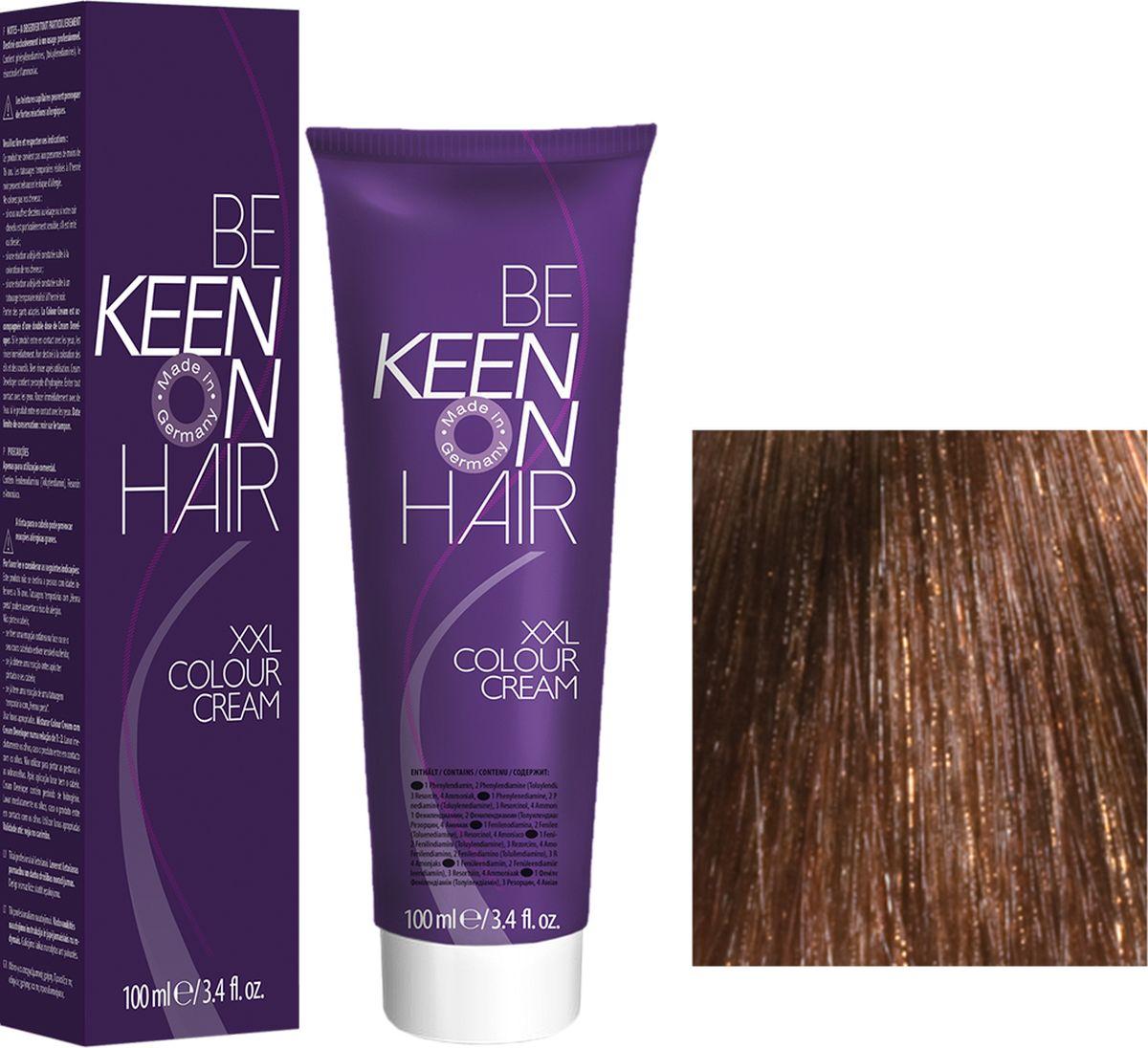 Keen Краска для волос 7.75 Палисандр Palisander, 100 мл69100068Модные оттенкиБолее 100 оттенков для креативной комбинации цветов.ЭкономичностьПри использовании тюбика 100 мл вы получаете оптимальное соотношение цены и качества!УходМолочный белок поддерживает структуру волоса во время окрашивания и придает волосам блеск и шелковистость. Протеины хорошо встраиваются в волосы и снабжают их влагой.