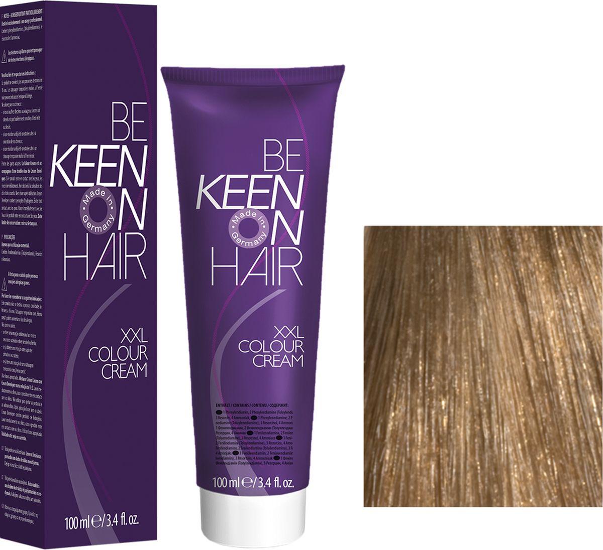 Keen Краска для волос 8.0 Блондин Blond, 100 мл69100070Модные оттенкиБолее 100 оттенков для креативной комбинации цветов.ЭкономичностьПри использовании тюбика 100 мл вы получаете оптимальное соотношение цены и качества!УходМолочный белок поддерживает структуру волоса во время окрашивания и придает волосам блеск и шелковистость. Протеины хорошо встраиваются в волосы и снабжают их влагой.