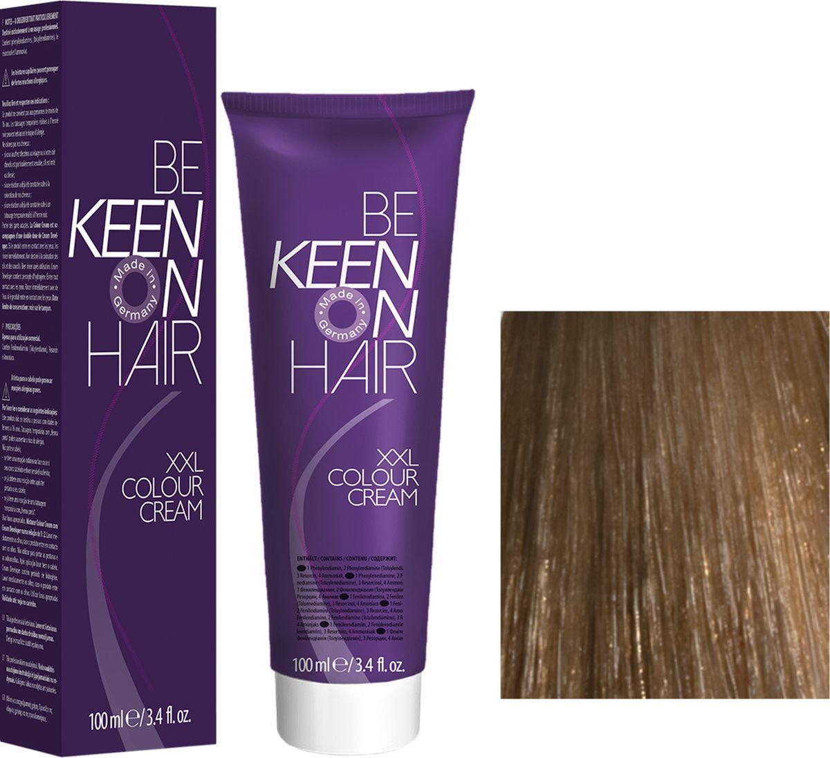 Keen Краска для волос 8.00+ Интенсивный блондин Blond +, 100 мл69100071Модные оттенкиБолее 100 оттенков для креативной комбинации цветов.ЭкономичностьПри использовании тюбика 100 мл вы получаете оптимальное соотношение цены и качества!УходМолочный белок поддерживает структуру волоса во время окрашивания и придает волосам блеск и шелковистость. Протеины хорошо встраиваются в волосы и снабжают их влагой.