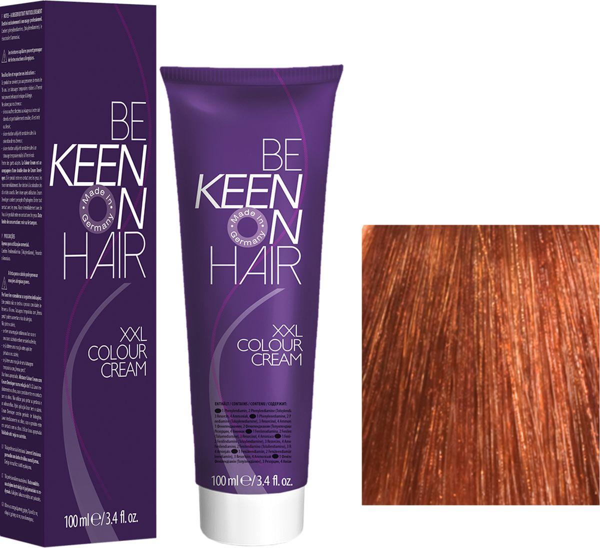 Keen Краска для волос 8.4 Медный блондин Blond Kupfer, 100 мл69100075Модные оттенкиБолее 100 оттенков для креативной комбинации цветов.ЭкономичностьПри использовании тюбика 100 мл вы получаете оптимальное соотношение цены и качества!УходМолочный белок поддерживает структуру волоса во время окрашивания и придает волосам блеск и шелковистость. Протеины хорошо встраиваются в волосы и снабжают их влагой.