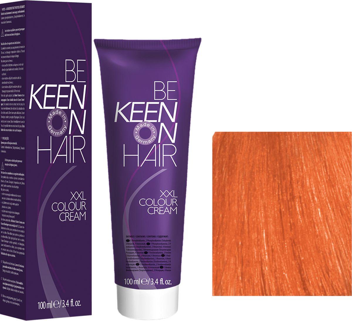Keen Краска для волос 8.44 Медно-золотистый блондин Blond Kupfer-Intensiv, 100 мл69100076Модные оттенкиБолее 100 оттенков для креативной комбинации цветов.ЭкономичностьПри использовании тюбика 100 мл вы получаете оптимальное соотношение цены и качества!УходМолочный белок поддерживает структуру волоса во время окрашивания и придает волосам блеск и шелковистость. Протеины хорошо встраиваются в волосы и снабжают их влагой.