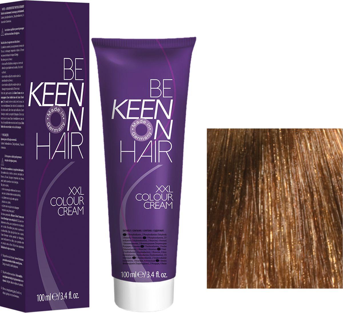 Keen Краска для волос 8.73 Мед Honig, 100 мл69100081Модные оттенкиБолее 100 оттенков для креативной комбинации цветов.ЭкономичностьПри использовании тюбика 100 мл вы получаете оптимальное соотношение цены и качества!УходМолочный белок поддерживает структуру волоса во время окрашивания и придает волосам блеск и шелковистость. Протеины хорошо встраиваются в волосы и снабжают их влагой.