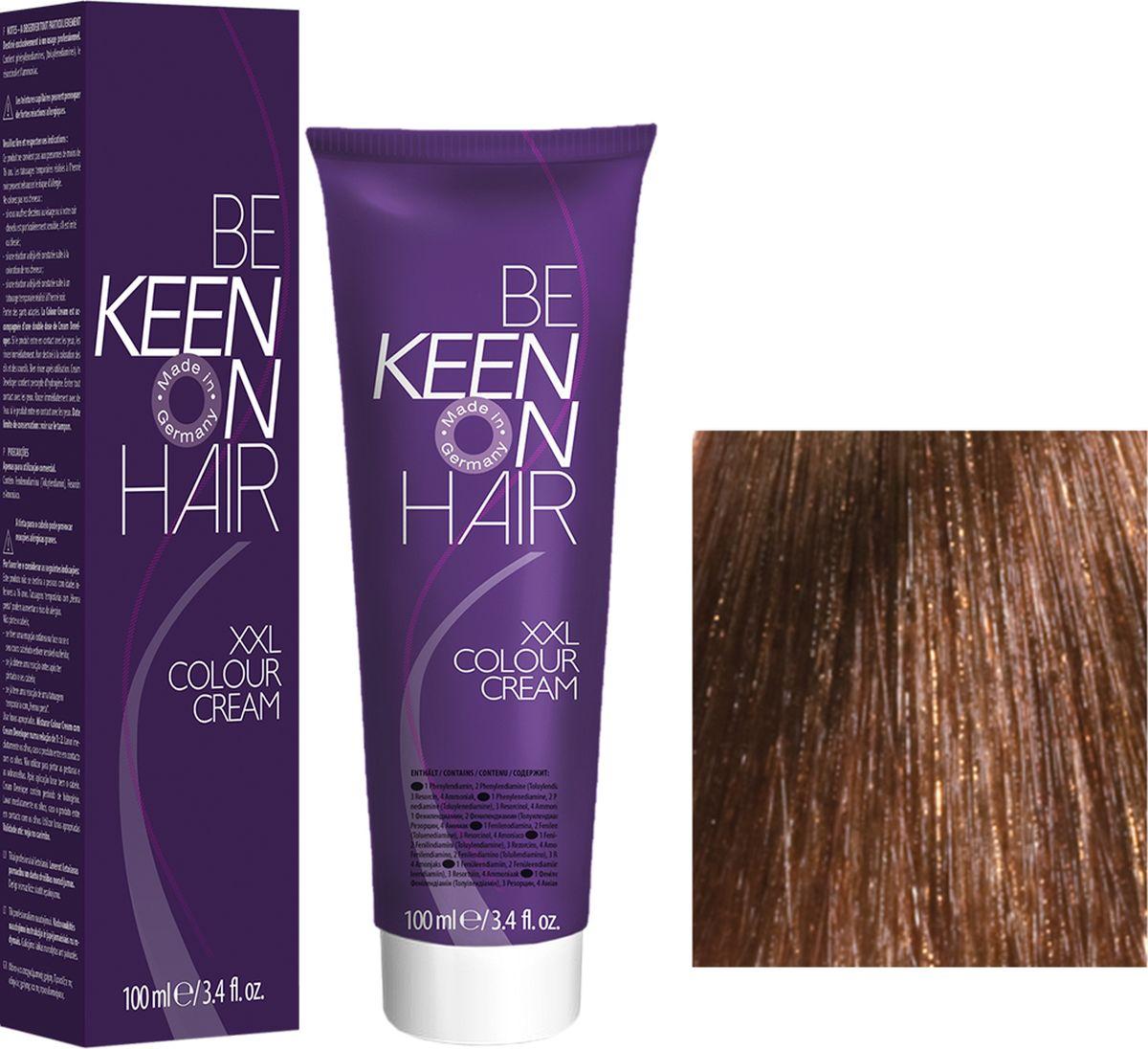 Keen Краска для волос 8.75 Клен Ahorn, 100 мл69100082Модные оттенкиБолее 100 оттенков для креативной комбинации цветов.ЭкономичностьПри использовании тюбика 100 мл вы получаете оптимальное соотношение цены и качества!УходМолочный белок поддерживает структуру волоса во время окрашивания и придает волосам блеск и шелковистость. Протеины хорошо встраиваются в волосы и снабжают их влагой.