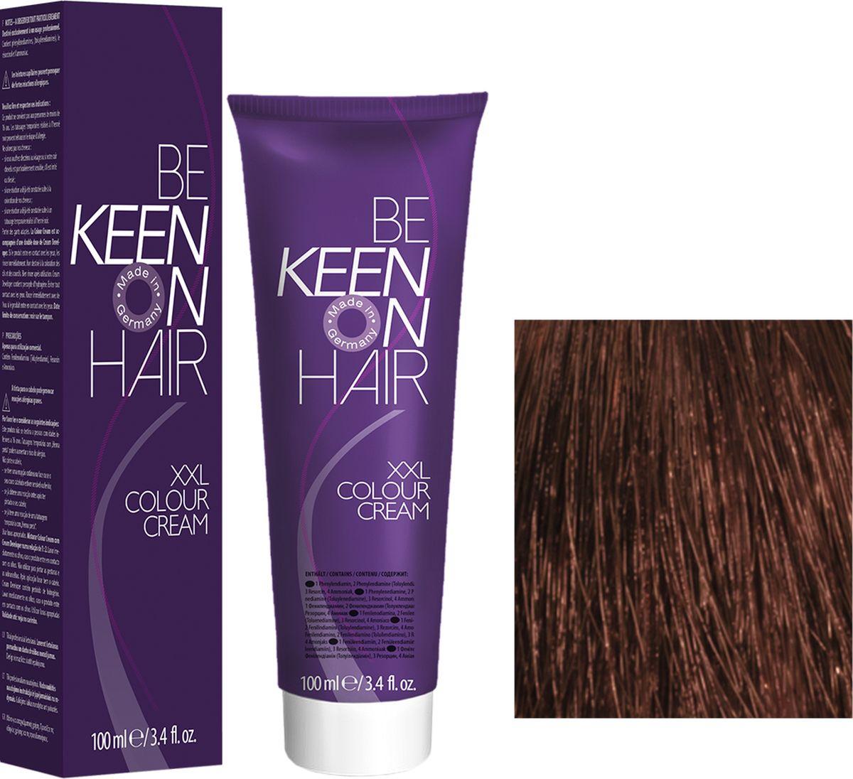Keen Краска для волос 8.77 Кофе с молоком Milchkaffee, 100 мл69100083Модные оттенкиБолее 100 оттенков для креативной комбинации цветов.ЭкономичностьПри использовании тюбика 100 мл вы получаете оптимальное соотношение цены и качества!УходМолочный белок поддерживает структуру волоса во время окрашивания и придает волосам блеск и шелковистость. Протеины хорошо встраиваются в волосы и снабжают их влагой.