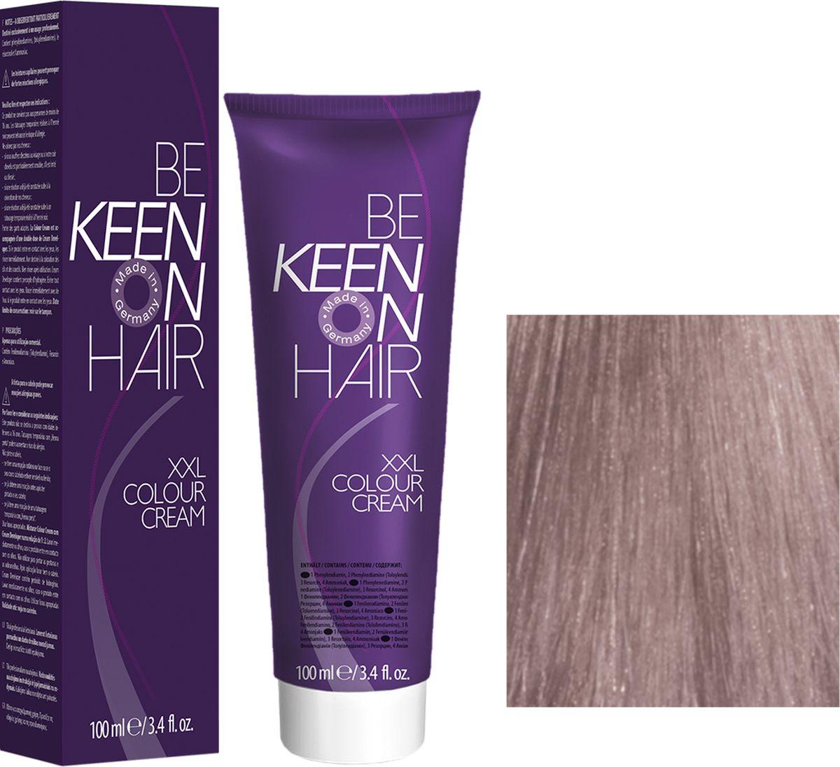 Keen Краска для волос 8.8 Жемчужный блондин Blond Perl, 100 мл69100084Модные оттенкиБолее 100 оттенков для креативной комбинации цветов.ЭкономичностьПри использовании тюбика 100 мл вы получаете оптимальное соотношение цены и качества!УходМолочный белок поддерживает структуру волоса во время окрашивания и придает волосам блеск и шелковистость. Протеины хорошо встраиваются в волосы и снабжают их влагой.