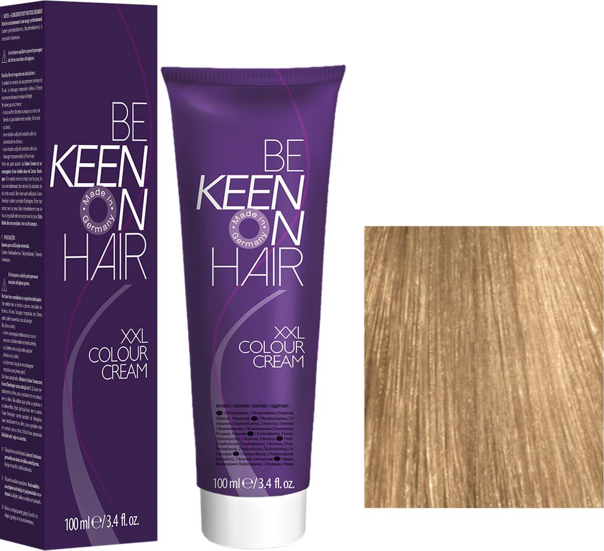 Keen Краска для волос 9.00+ Интенсивный светлый блондин Hellblond +, 100 мл69100086Модные оттенкиБолее 100 оттенков для креативной комбинации цветов.ЭкономичностьПри использовании тюбика 100 мл вы получаете оптимальное соотношение цены и качества!УходМолочный белок поддерживает структуру волоса во время окрашивания и придает волосам блеск и шелковистость. Протеины хорошо встраиваются в волосы и снабжают их влагой.