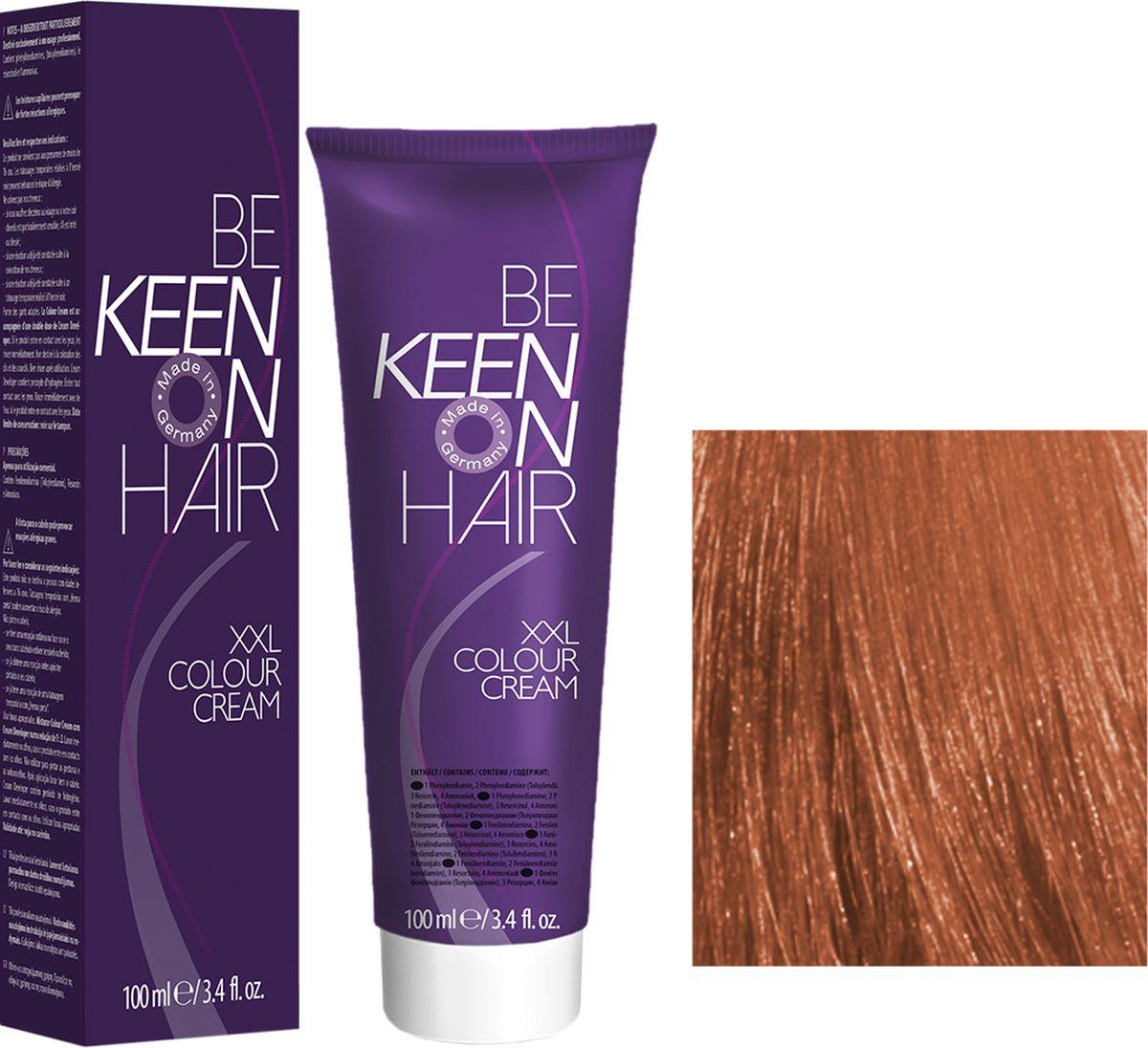 Keen Краска для волос 9.04 Светло-медный блондин Hellblond Kupfer, 100 мл69100089Модные оттенкиБолее 100 оттенков для креативной комбинации цветов.ЭкономичностьПри использовании тюбика 100 мл вы получаете оптимальное соотношение цены и качества!УходМолочный белок поддерживает структуру волоса во время окрашивания и придает волосам блеск и шелковистость. Протеины хорошо встраиваются в волосы и снабжают их влагой.