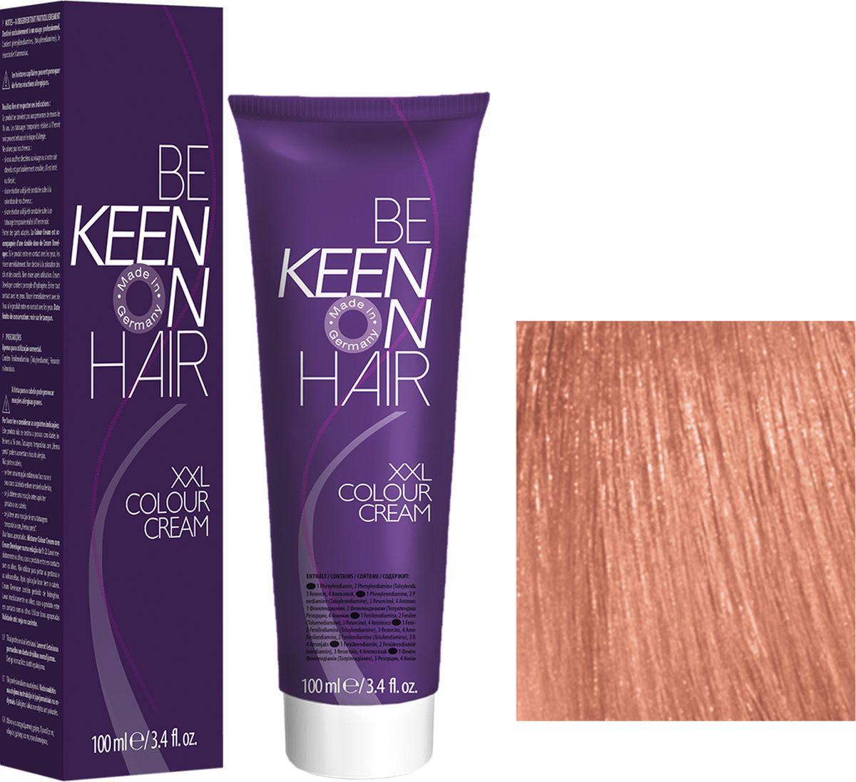 Keen Краска для волос 9.44 Светлый интенсивно-медный блондин Hellblond Kupfer-Intensiv, 100 мл69100090Модные оттенкиБолее 100 оттенков для креативной комбинации цветов.ЭкономичностьПри использовании тюбика 100 мл вы получаете оптимальное соотношение цены и качества!УходМолочный белок поддерживает структуру волоса во время окрашивания и придает волосам блеск и шелковистость. Протеины хорошо встраиваются в волосы и снабжают их влагой.