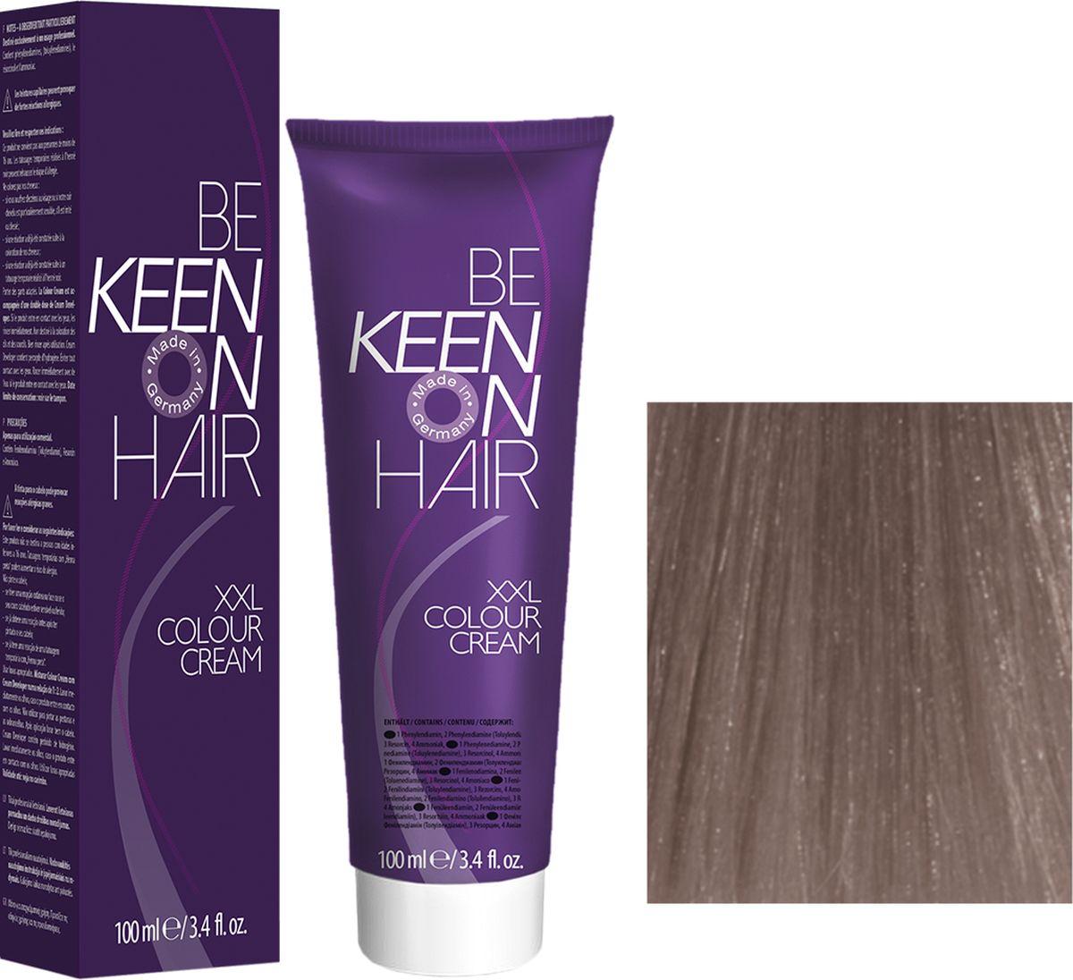 Keen Краска для волос 9.61 Светлый фиолетово-пепельный блондин Hellblond Violett-Asch, 100 мл69100091Модные оттенкиБолее 100 оттенков для креативной комбинации цветов.ЭкономичностьПри использовании тюбика 100 мл вы получаете оптимальное соотношение цены и качества!УходМолочный белок поддерживает структуру волоса во время окрашивания и придает волосам блеск и шелковистость. Протеины хорошо встраиваются в волосы и снабжают их влагой.