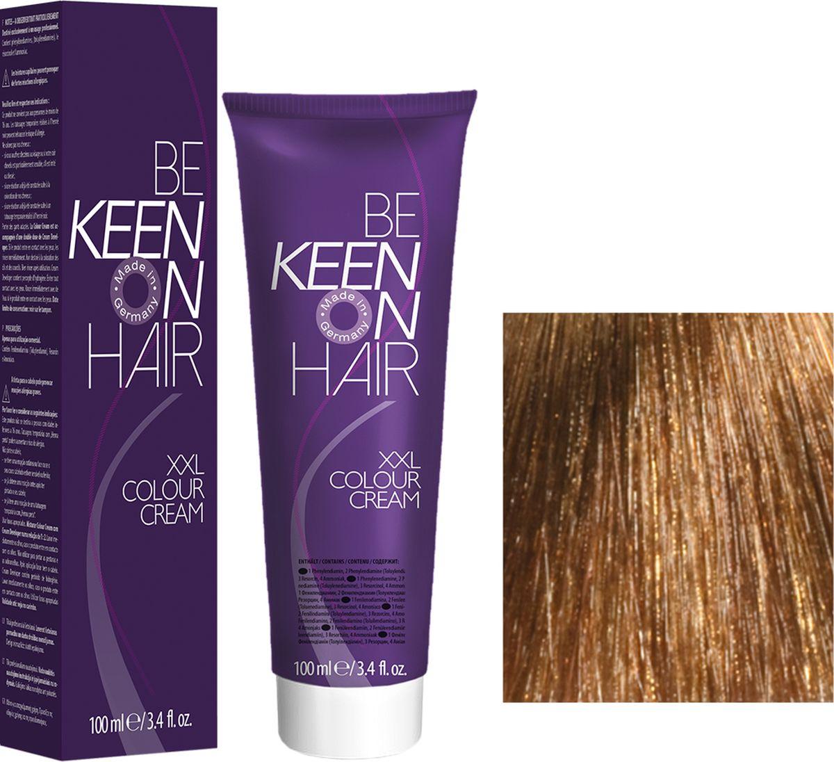 Keen Краска для волос 9.73 Имбирь Ingwer, 100 мл213-1-52Модные оттенкиБолее 100 оттенков для креативной комбинации цветов.ЭкономичностьПри использовании тюбика 100 мл вы получаете оптимальное соотношение цены и качества!УходМолочный белок поддерживает структуру волоса во время окрашивания и придает волосам блеск и шелковистость. Протеины хорошо встраиваются в волосы и снабжают их влагой.