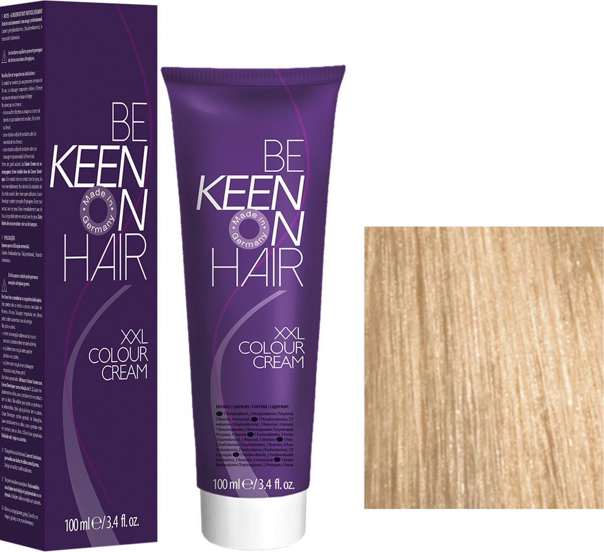 Keen Краска для волос 10.0 Ультра-светлый блондин Ultrahellblond, 100 мл69100096Модные оттенкиБолее 100 оттенков для креативной комбинации цветов.ЭкономичностьПри использовании тюбика 100 мл вы получаете оптимальное соотношение цены и качества!УходМолочный белок поддерживает структуру волоса во время окрашивания и придает волосам блеск и шелковистость. Протеины хорошо встраиваются в волосы и снабжают их влагой.