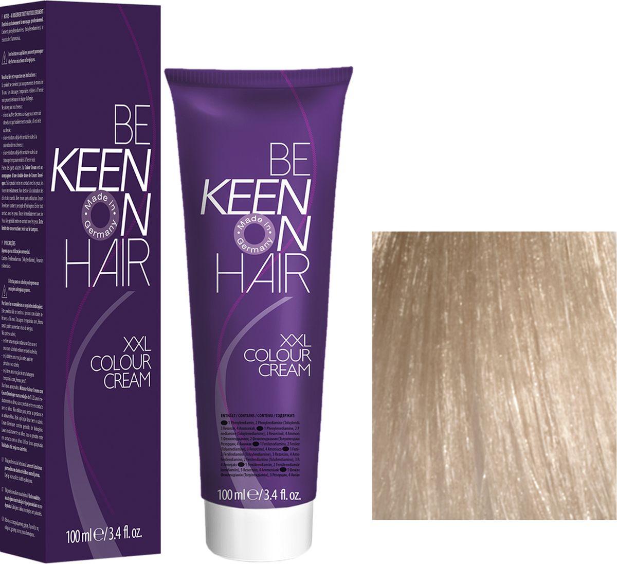 Keen Краска для волос 10.1 Ультра-светлый пепельный блондин Ultrahellblond Asch, 100 мл69100097Модные оттенкиБолее 100 оттенков для креативной комбинации цветов.ЭкономичностьПри использовании тюбика 100 мл вы получаете оптимальное соотношение цены и качества!УходМолочный белок поддерживает структуру волоса во время окрашивания и придает волосам блеск и шелковистость. Протеины хорошо встраиваются в волосы и снабжают их влагой.
