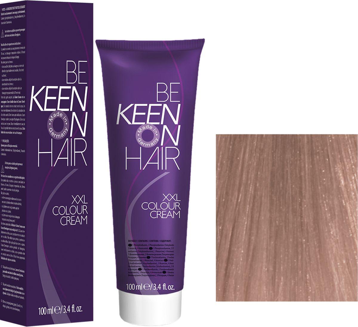 Keen Краска для волос 10.65 Шардоне Chardonnay, 100 мл12111160Модные оттенкиБолее 100 оттенков для креативной комбинации цветов.ЭкономичностьПри использовании тюбика 100 мл вы получаете оптимальное соотношение цены и качества!УходМолочный белок поддерживает структуру волоса во время окрашивания и придает волосам блеск и шелковистость. Протеины хорошо встраиваются в волосы и снабжают их влагой.