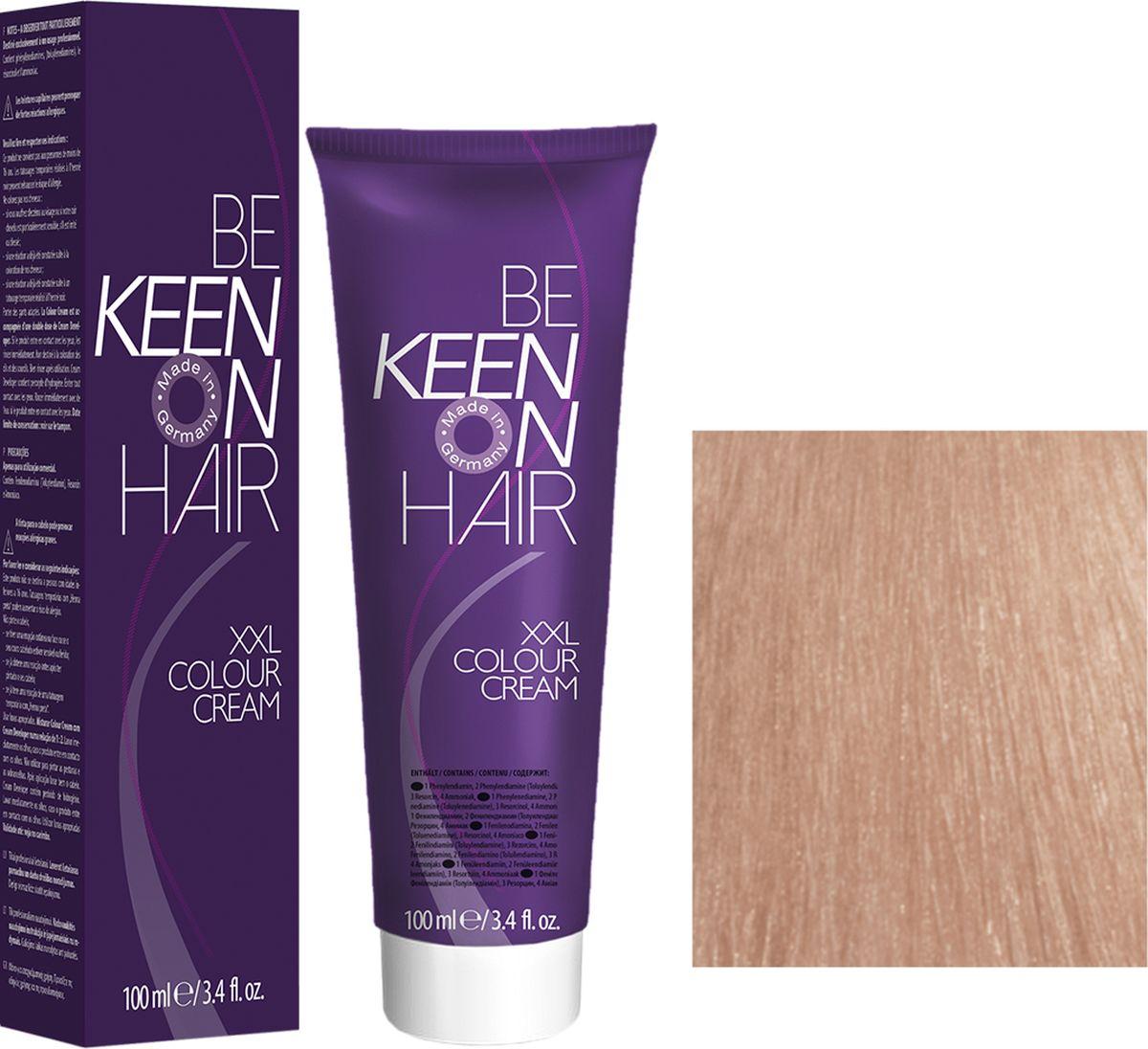 Keen Краска для волос 10.7 Ультра-светлый коричневый блондин Ultrahellblond Braun, 100 мл69100101Модные оттенкиБолее 100 оттенков для креативной комбинации цветов.ЭкономичностьПри использовании тюбика 100 мл вы получаете оптимальное соотношение цены и качества!УходМолочный белок поддерживает структуру волоса во время окрашивания и придает волосам блеск и шелковистость. Протеины хорошо встраиваются в волосы и снабжают их влагой.