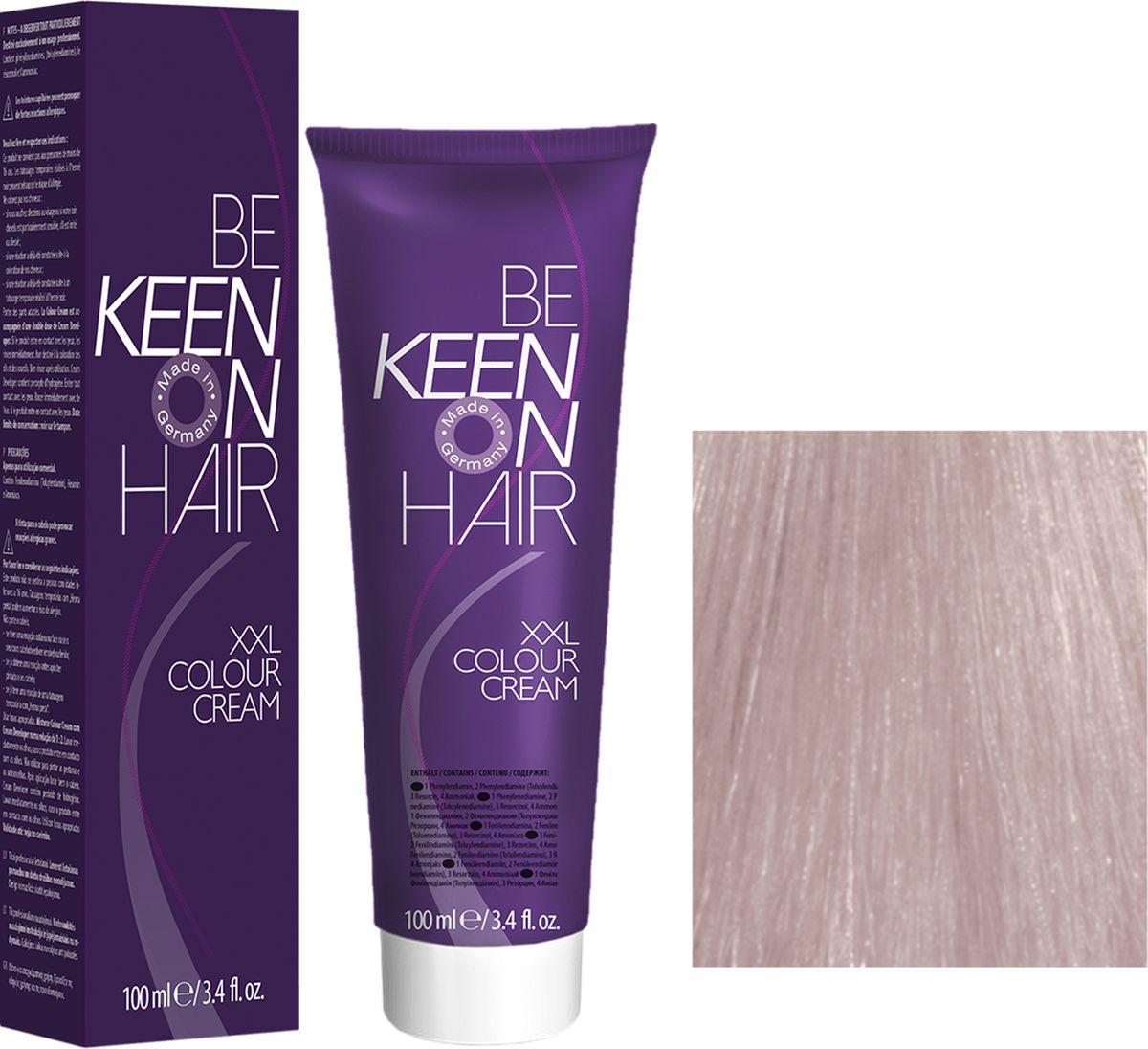 Keen Краска для волос 10.8 Ультра-светлый жемчужный блондин Ultrahellblond Perl, 100 мл69100102Модные оттенкиБолее 100 оттенков для креативной комбинации цветов.ЭкономичностьПри использовании тюбика 100 мл вы получаете оптимальное соотношение цены и качества!УходМолочный белок поддерживает структуру волоса во время окрашивания и придает волосам блеск и шелковистость. Протеины хорошо встраиваются в волосы и снабжают их влагой.