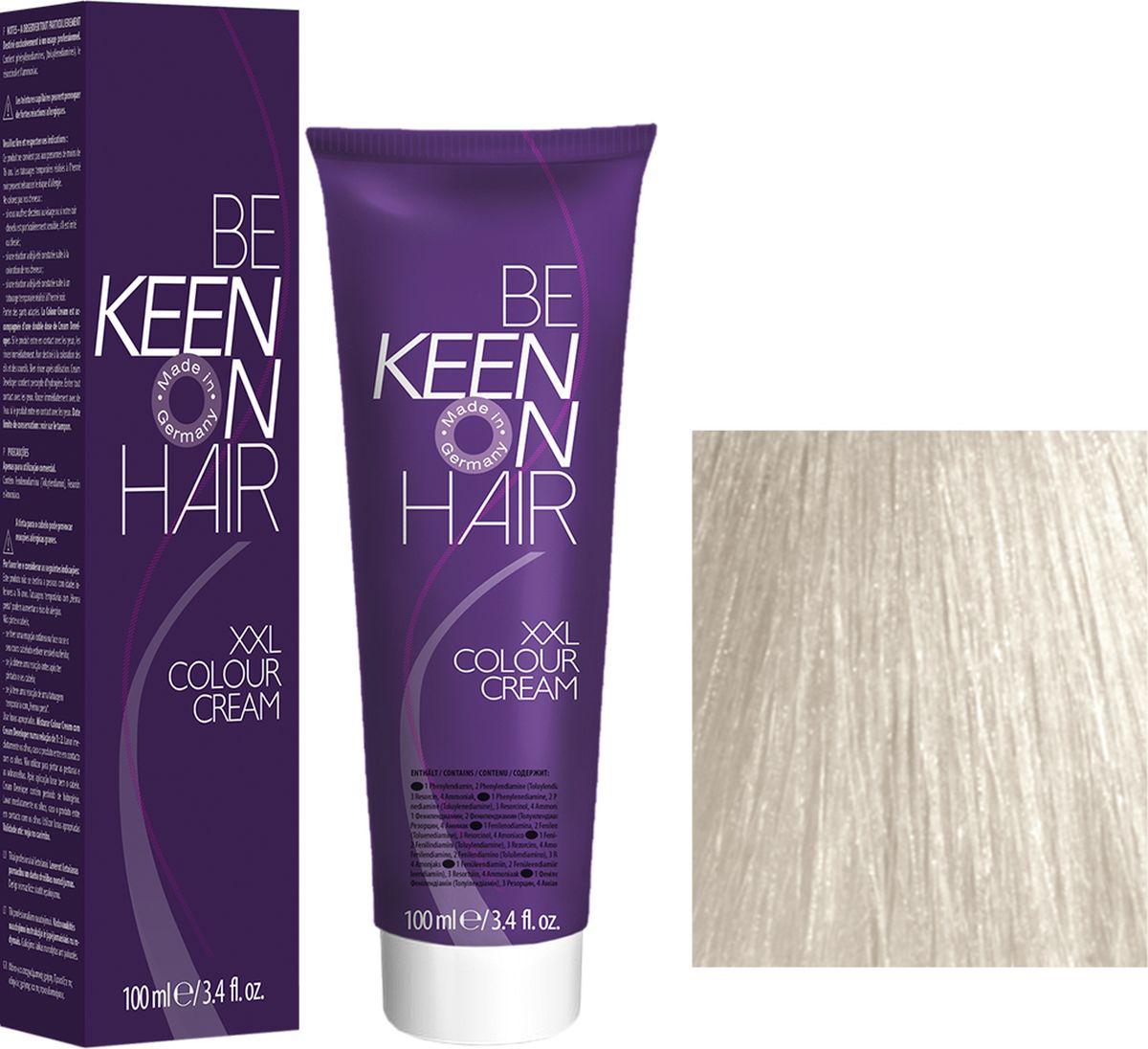 Keen Краска для волос 12.10 Платиново-пепельный блондин Platinblond Asch, 100 мл69100104Модные оттенкиБолее 100 оттенков для креативной комбинации цветов.ЭкономичностьПри использовании тюбика 100 мл вы получаете оптимальное соотношение цены и качества!УходМолочный белок поддерживает структуру волоса во время окрашивания и придает волосам блеск и шелковистость. Протеины хорошо встраиваются в волосы и снабжают их влагой.