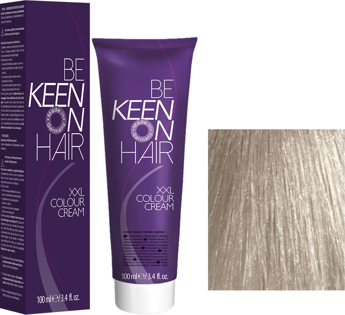 Keen Краска для волос 12.16 Платиновый пепельно-фиолетовый блондин Platinblond Asch-Violett, 100 мл69100105Модные оттенкиБолее 100 оттенков для креативной комбинации цветов.ЭкономичностьПри использовании тюбика 100 мл вы получаете оптимальное соотношение цены и качества!УходМолочный белок поддерживает структуру волоса во время окрашивания и придает волосам блеск и шелковистость. Протеины хорошо встраиваются в волосы и снабжают их влагой.