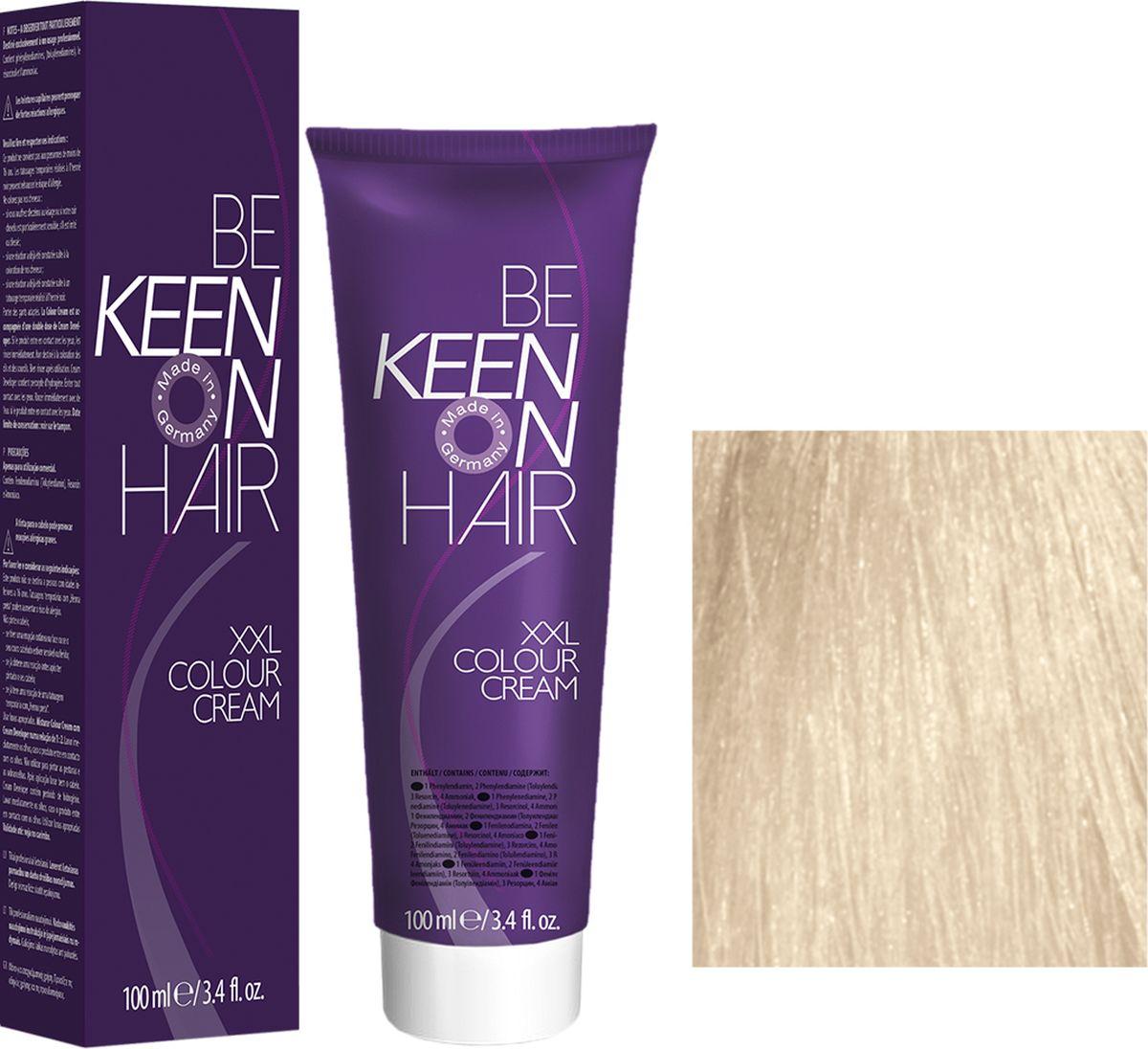 Keen Краска для волос 12.30 Платиново-золотистый блондин Platinblond Gold, 100 мл69100106Модные оттенкиБолее 100 оттенков для креативной комбинации цветов.ЭкономичностьПри использовании тюбика 100 мл вы получаете оптимальное соотношение цены и качества!УходМолочный белок поддерживает структуру волоса во время окрашивания и придает волосам блеск и шелковистость. Протеины хорошо встраиваются в волосы и снабжают их влагой.