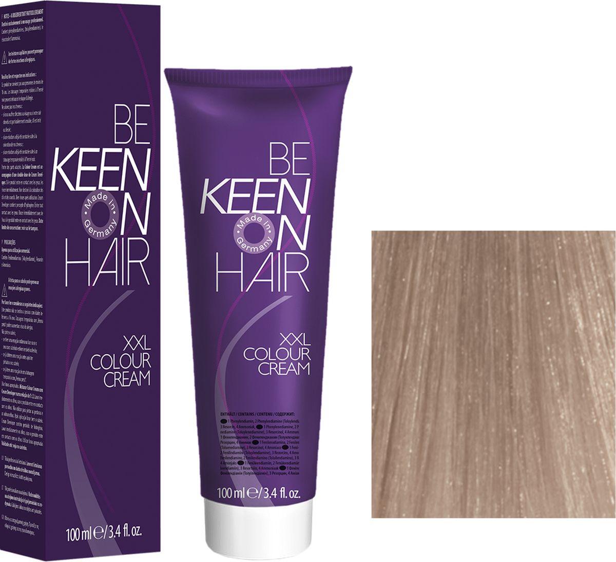 Keen Краска для волос 12.60 Платиново-фиолетовый блондин Platinblond Violett, 100 мл69100107Модные оттенкиБолее 100 оттенков для креативной комбинации цветов.ЭкономичностьПри использовании тюбика 100 мл вы получаете оптимальное соотношение цены и качества!УходМолочный белок поддерживает структуру волоса во время окрашивания и придает волосам блеск и шелковистость. Протеины хорошо встраиваются в волосы и снабжают их влагой.