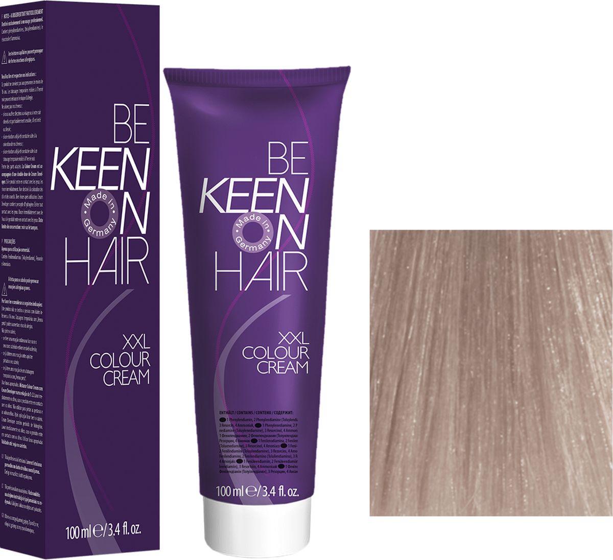 Keen Краска для волос 12.61 Платиновый фиолетово-пепельный блондин Platinblond Violett-Asch, 100 мл69100108Модные оттенкиБолее 100 оттенков для креативной комбинации цветов.ЭкономичностьПри использовании тюбика 100 мл вы получаете оптимальное соотношение цены и качества!УходМолочный белок поддерживает структуру волоса во время окрашивания и придает волосам блеск и шелковистость. Протеины хорошо встраиваются в волосы и снабжают их влагой.