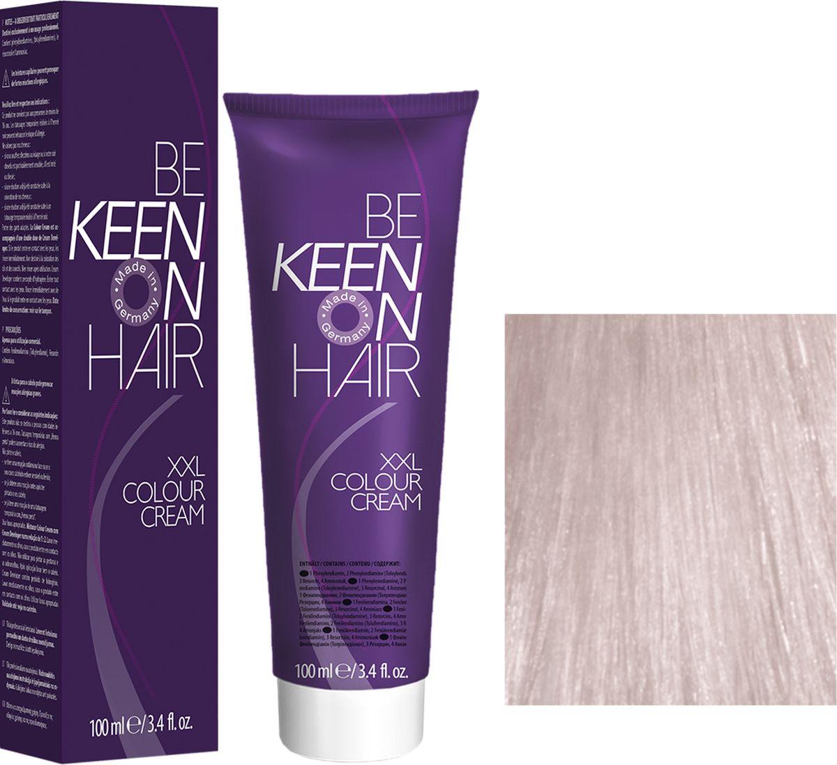 Keen Краска для волос 12.80 Платиново-жемчужный блондин Platinblond Perl, 100 мл0101010781AМодные оттенкиБолее 100 оттенков для креативной комбинации цветов.ЭкономичностьПри использовании тюбика 100 мл вы получаете оптимальное соотношение цены и качества!УходМолочный белок поддерживает структуру волоса во время окрашивания и придает волосам блеск и шелковистость. Протеины хорошо встраиваются в волосы и снабжают их влагой.