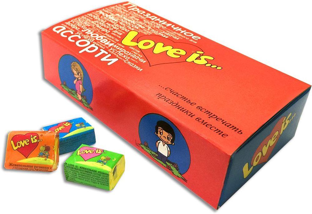 Love is Пожелания жевательная резинка, 25 шт сладкая открытка добрые пожелания