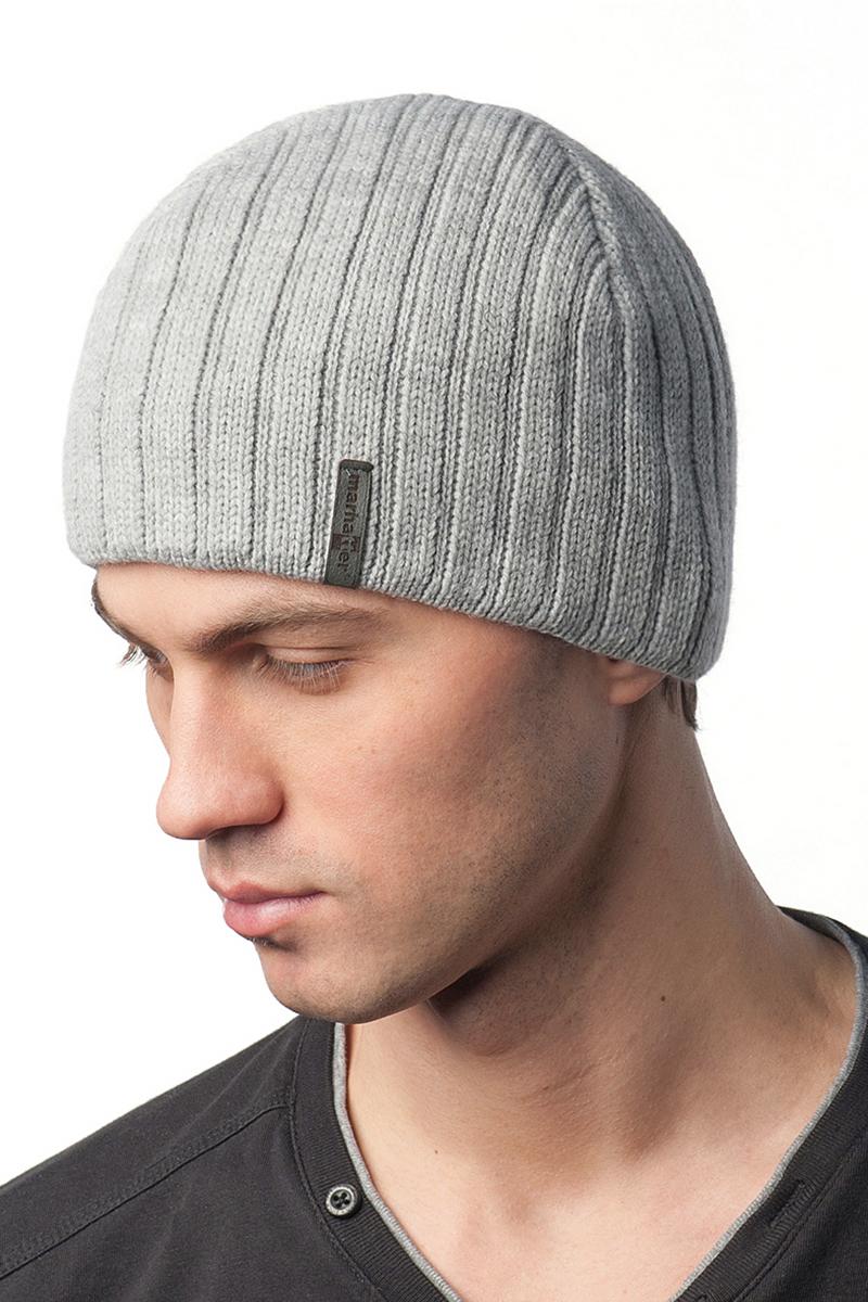 Шапка мужская Marhatter, цвет: светло-серый. Размер 56/58. 34733473Стильная теплая шапка на полном флисе, выполненная из высококачественных материалов, станет для вас незаменимой вещью. Будет хорошо смотреться не только со спортивной одеждой, но и с повседневной.