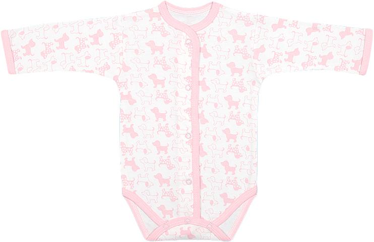 Боди для девочки Чудесные одежки, цвет: белый, розовый. 5898. Размер 565898Детское боди Чудесные одежки идеально подойдет вашему ребенку, обеспечивая ему наибольший комфорт. Боди с длинными рукавами изготовлено из натурального хлопка, благодаря чему оно необычайно мягкое и легкое, не раздражает нежную кожу ребенка и хорошо вентилируется. Боди не сковывает движения малыша, а удобные застежки-кнопки по всей длине и на ластовице помогают легко переодеть ребенка. Современный дизайн и яркая расцветка делают боди оригинальным и стильным предметом детского гардероба. В нем ваш ребенок всегда будет в центре внимания.