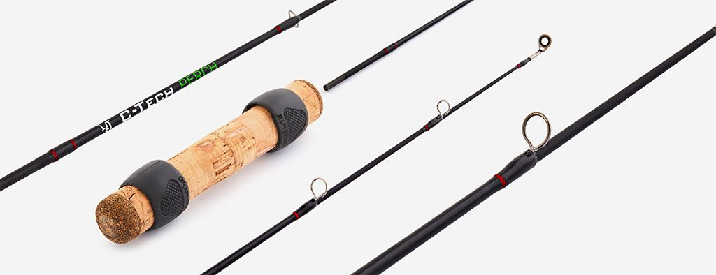Удилище зимнее Lucky John C-Tech Perch, 43 см удилище lucky john c tech trout 60см