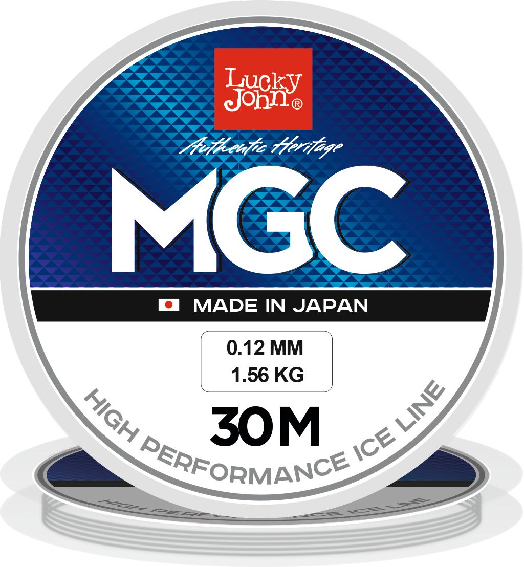 Леска зимняя Lucky John MGC, моно, 030/014LJ4000-014Современная монофильная леска. Изготовленна в Японии с использованием самого высококачественного сырья и новейших технологий, она не теряет свою прочность и эластичность даже при 50-ти градусном морозе.