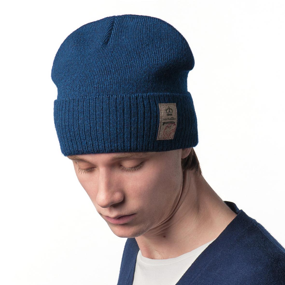 Шапка мужская Marhatter, цвет: темно-синий. Размер 57/59. MYH7746MYH7746Отличная шапка с модным дизайном, выполнена из комфортного материала. Данная модель мягкая и комфортная на ощупь, отличный вариант на каждый день.