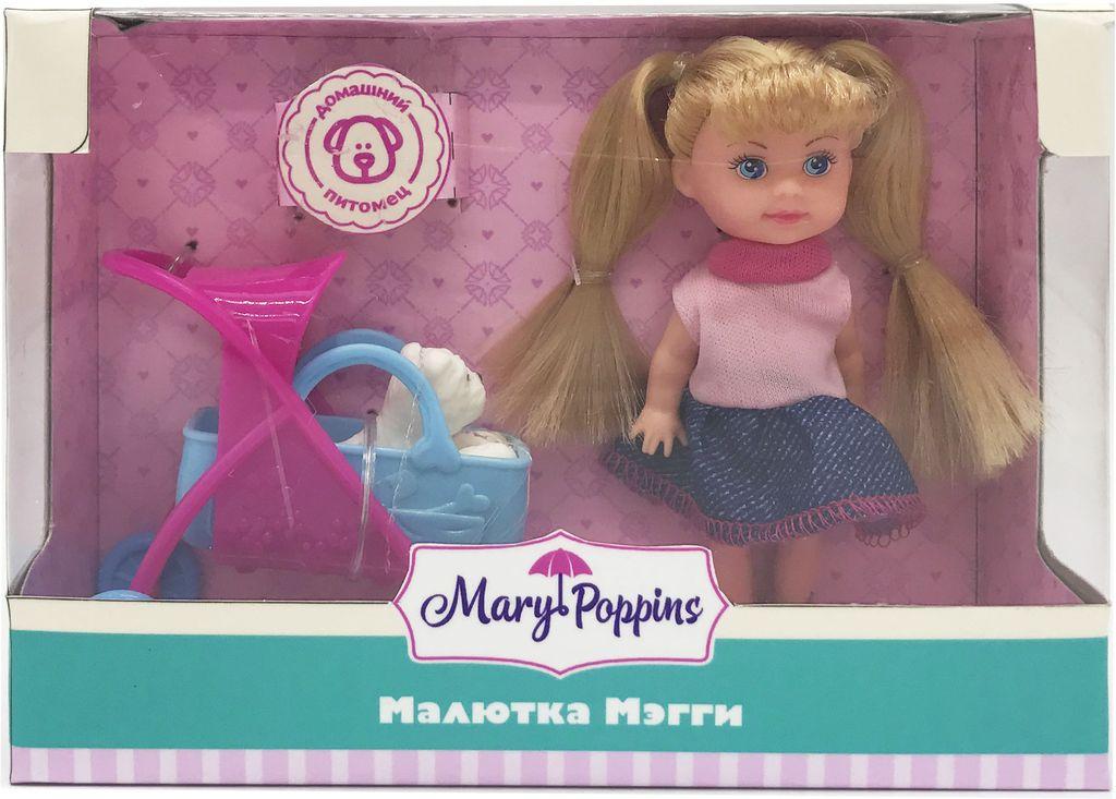 Mary Poppins Кукла Мэгги Прогулка с питомцем кукла мэгги
