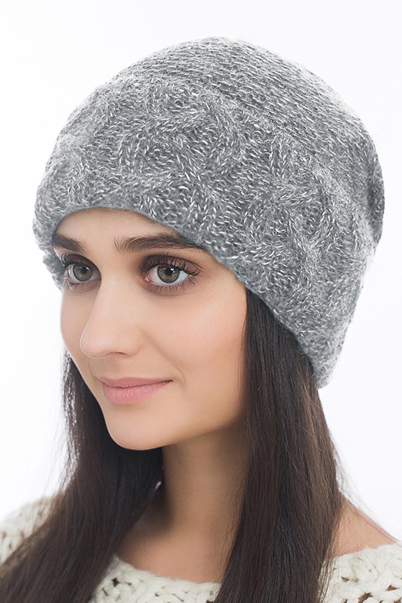 Шапка женская Marhatter, цвет: светло-серый. Размер 56/58. MWH6840/2MWH6840/2Отличная шапка с отворотом, выполнена из высококачественного материала. Модель очень актуальна для тех, кто ценит комфорт, стиль и красоту.